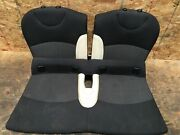 2009 Mini Cooper S Clubman Rear Second Row Lower And Upper Seat Cloth Set Oem+