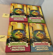 Gpk Super7 Topps Universal Monsters Complete Wax Box Lot Garbage Pail Kids