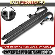 2x Rear Trunk Lid Tailgate Power Lift Supports Left And Right For Bmw X3 F25 11-15
