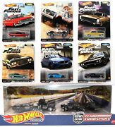 Hot Wheels Premium Metal Models Real Rider Tyres 164 Scale Toy Cars Choose Car