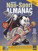 2020 Beckett Non-sports Almanac Price Guide And Key Listings Dc/marvel/ Star Wars