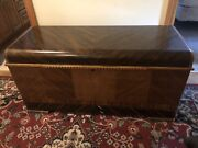 Vintage Lane Cedar Hope Chest Lock Has Been Removed With Original Tags