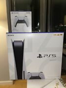 Sony Ps5 Playstation 5 Console Disc Version + Extra Controller | Ready To Ship