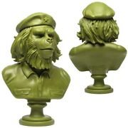 Ssur 3dretro 14andrdquo Rebel Ape Bust Army Green Ltd100 Che Guevara Planet Of The Apes