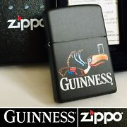 New Boxed Collectible 2004 Zippo Guinness Andldquoflying Toucanandrdquo Lighter And Instructions