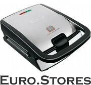 Tefal Sw 852 D Toaster Black / Stainless Steel Look New And Original