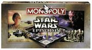 Board Games Star Wars Monopoly Episode 1 Edition