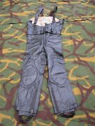 Vintage 1989 Leather Military Police Motorcycle Pants