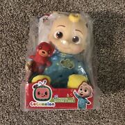 Cocomelon Plush Bedtime Jj Doll, 10in With Sound Brand New, Ships Fast