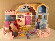 Fisher Price Loving Family Sweet Expressions Stable Friendship Ponies Sounds
