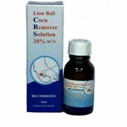 Lion Ball Brand Corn Remover Solutions 20 W/v Treatment Of Warts 15ml Fast Ship