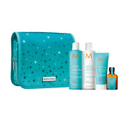 Moroccanoil Hydrating Shampoo Conditioner Mask Oil Holiday Gift Set
