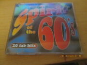 Time Life Cd The Spirit Of The Sixties 20 Fad Hits. In Ex Con Rare Hard To Find