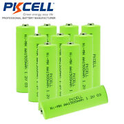 1.2v 1500mah Aa Size Ni-mh Rechargeable Battery For Cordless Home Phone Count 10