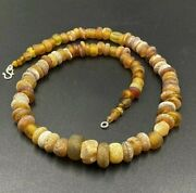 Old Beads Ancient Millefiori Multi Color Roman Glass Jewelry Necklace Antiquity