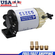S3213 Boat Fuel Water Separator Marine For Mercury Yamaha Outboard 10 Micron Usa