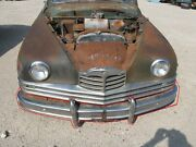 1950 Packard Eight Touring Sedan Front Bumper Assembly With Brackets