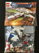 Lego 9493 Star Wars X-wing Starfighter 2012 100 Complete W/ Minifgs And Manual