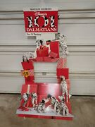 1998 Mcdonald's 101 Dalmatians Cardboard Happy Meal Toy Advertising Sign Display