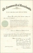 Calvin Coolidge - Civil Appointment Signed 06/16/1920 With Co-signers