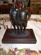 Hartland Bronze Yankees Babe Ruth And Lou Gehrig Statue Figure Rare Limited