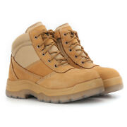 Menand039s Work Boots Steel Toe Water Resistant Safety Boots For Automobile Driver