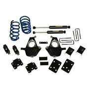 For Chevy Silverado 1500 07-13 Ground Force 3 X 5 Front And Rear Lowering Kit