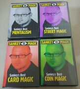 Best Of Jay Sankey Magic 4 Dvd - Card Coin Street Mentalism Mental For Magician
