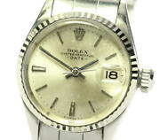 Rolex Oyster Perpetual Date 6517 Cal.1161 Automatic Ladies Watch_569107