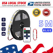 Blue Wireless Car Boat Led Strips Interior Accent Lights Kit Waterproof Bright