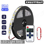 5m/16.4ft Rv Awning Party Ice Blue Led Light Strip For Dometic 9100 Series