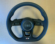 Audi A3 8v A4 B9 8w A5 F5 Q2 Ga Oem S-line Steering Wheel With Paddles 8w0419091