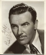 Preston S. Foster - Autographed Inscribed Photograph