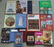 Lot Of 15, Antiques Collector's Price Guide, Dolls, Rugs, Glass, Clocks, Farm