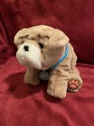 Little Live Pets Rollie My Kissing Puppy Bulldog Pug Wrinkle Working See Video