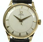 Omega 18k Yellow Gold Antique Harf Rotor Cal352 Automatic Menand039s_456678