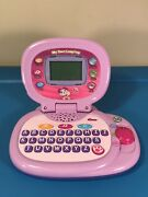 Leapfrog My Own Leaptop Laptop Toy Purple/pink Computer Learning Abc's See Video