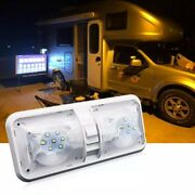Car Led Interior Double Dome Ceiling Light For Rv Boat For Camper Trailer Truck