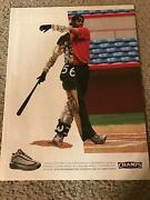 Vintage Nike Air Max Griffey Gd Ii 2 Shoes Poster Print Ad Ken Griffey Jr. Rare