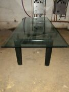 Lc6 Cassina's Master's Collection Mid-century Modern Dining Table Made In Italy