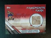 Frisco Rough Riders 2017 Topps Fragments Of The Game 05/10 Part Of Mound Rubber