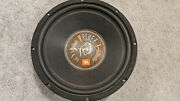 """Jbl Gt122 Subwoofer 12"""" Old School Bass Speaker Car Audio 4 Ohm Made In Usa"""