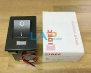 1pcs New For Idec Nh1l-2100f-15ba4c 15a 250v Dc12v Rocker Switch With Light