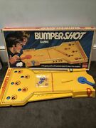 Very Rare Vintage Bumper Shot Game Ideal Christmas Vgc Complete