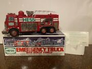 2005 Hess Emergency Truck And Rescue Vehicle - Mint Condition W/ Free Std Ship