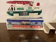 1996 Hess Emergency Truck New In Box - Mint Condition W/ Free Std Shipping