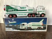 1999 Hess Truck And Space Shuttle - Mint Condition W/ Free Std Shipping