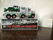 2013 Hess Truck And Tractor New In Box - Mint Condition W/ Free Std Shipping