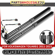 2x Rear Trunk Liftgate Power Lift Supports For Volkswagen Touareg 7p 2011-2015