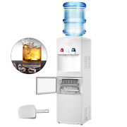 Water Cooler Dispenser With Ice Maker Built In 2in1 Hot Cold Water Cooler